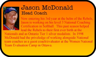 Jason McDonald:  Coach